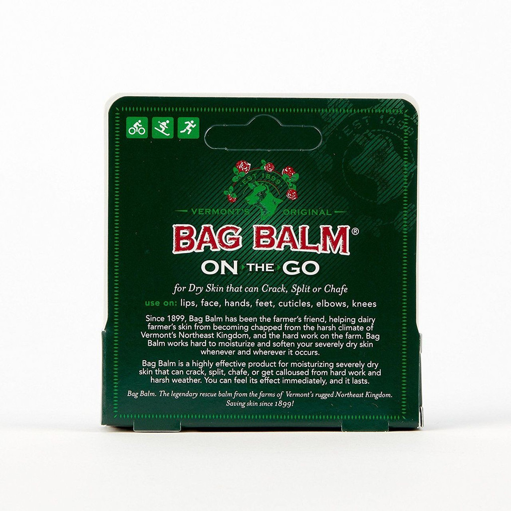 Vermont's Original Bag Balm On-the-Go Tube Skin Moisturizer, 0.25 Ounce Tube