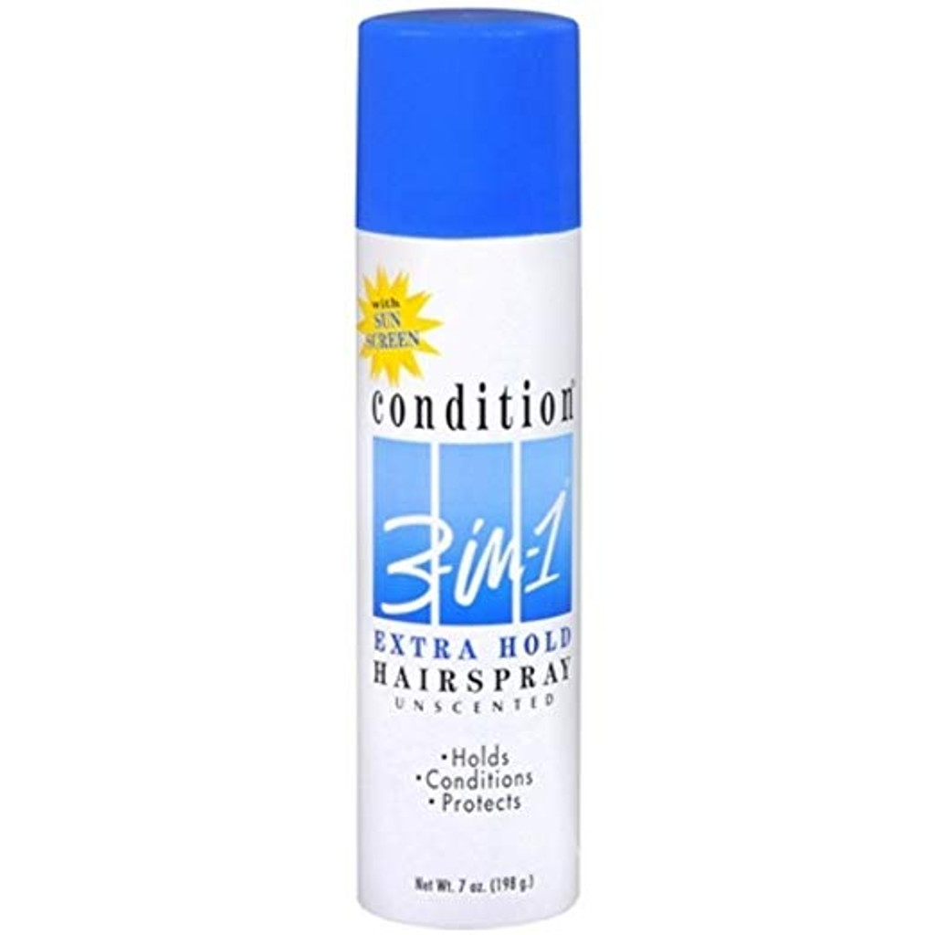 CONDITION_3_In_1_Hairspray_Aerosol_Extra_Hold_Unscented_7_oz_1