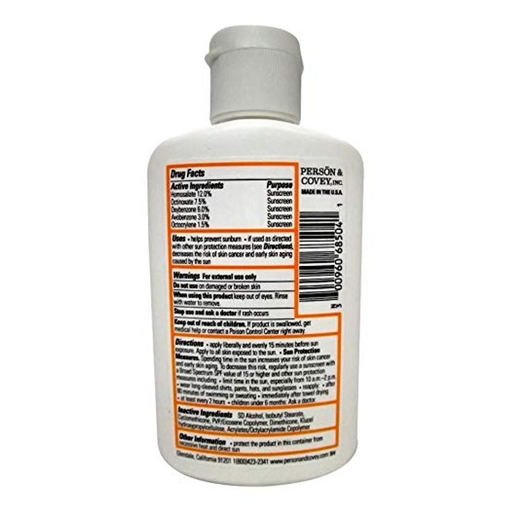 Solbar PF Sunscreen Liquid SPF 30 4 oz