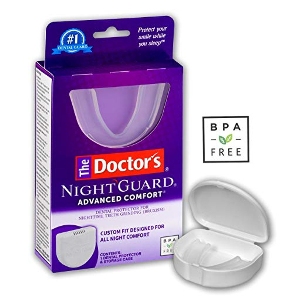 The_Doctors_Advanced_Comfort_NightGuard_1_Dental_Guard_and_Case_Dental_Protector_for_Nighttime_Teeth_Grinding_1