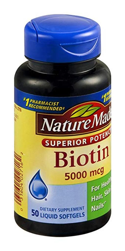 Nature_Made_Biotin_Liquid_Softgels_5000_MCG_50_CT_1