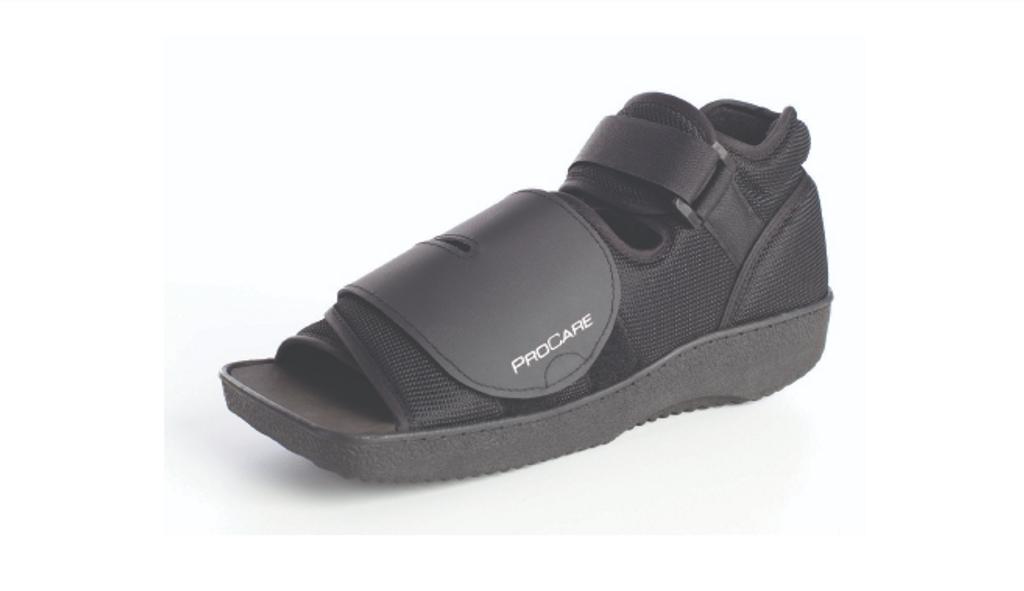 ProCare_X_Small_Black_Unisex_Post_Op_Shoe_#79_812321