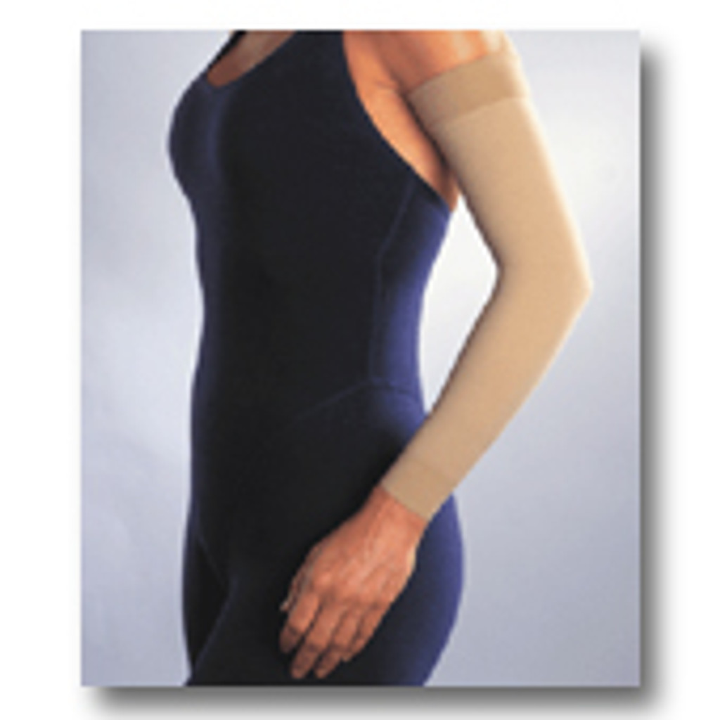 """Jobst 15-20 mmHg Armsleeve with 2"""" Silicone Top Band"""