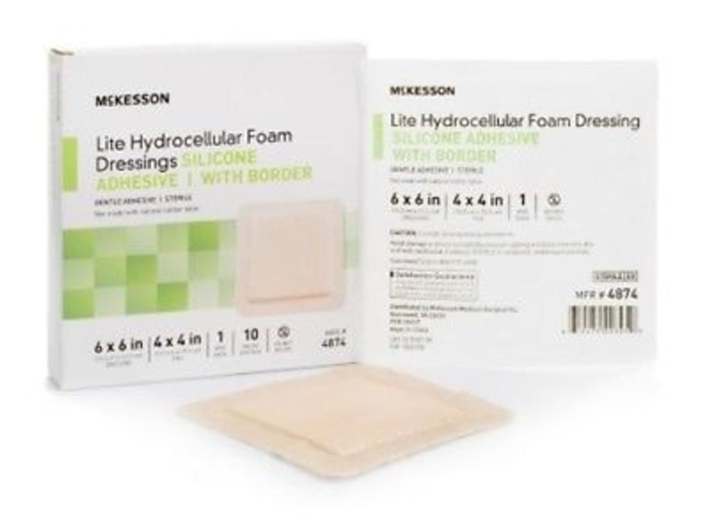 Lite_Hydrocellular_Foam_Dressing_Silicone_Adhesive_6_6_Inch_10_Per_Box1