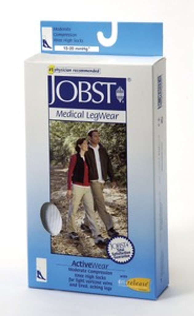 Jobst ActiveWear 15-20 Support Knee High Socks