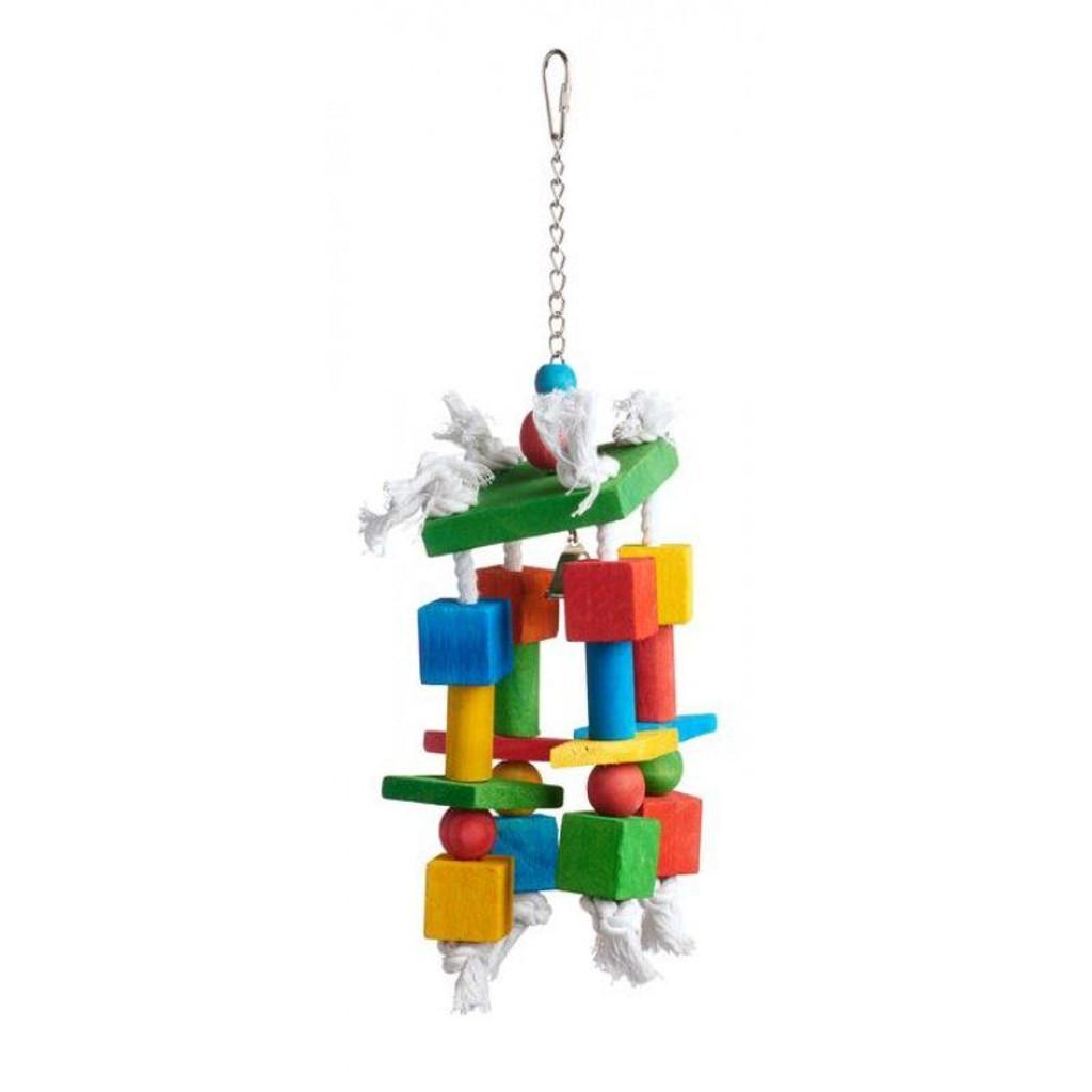"Prevue Bodacious Bites Crazy Legs Bird Toy 1 Pack - (Approx. 3.5""L x 3.5""W x 16""H)"