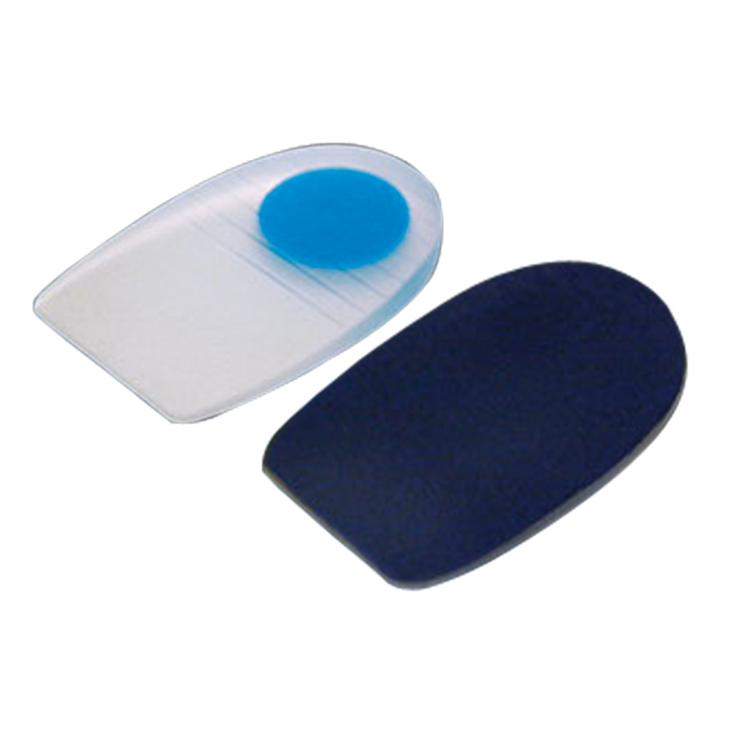MEDIUM RECOVERY HEEL PAD BLUE DOT LARGE MENS 9+/WOMENS 10.5+