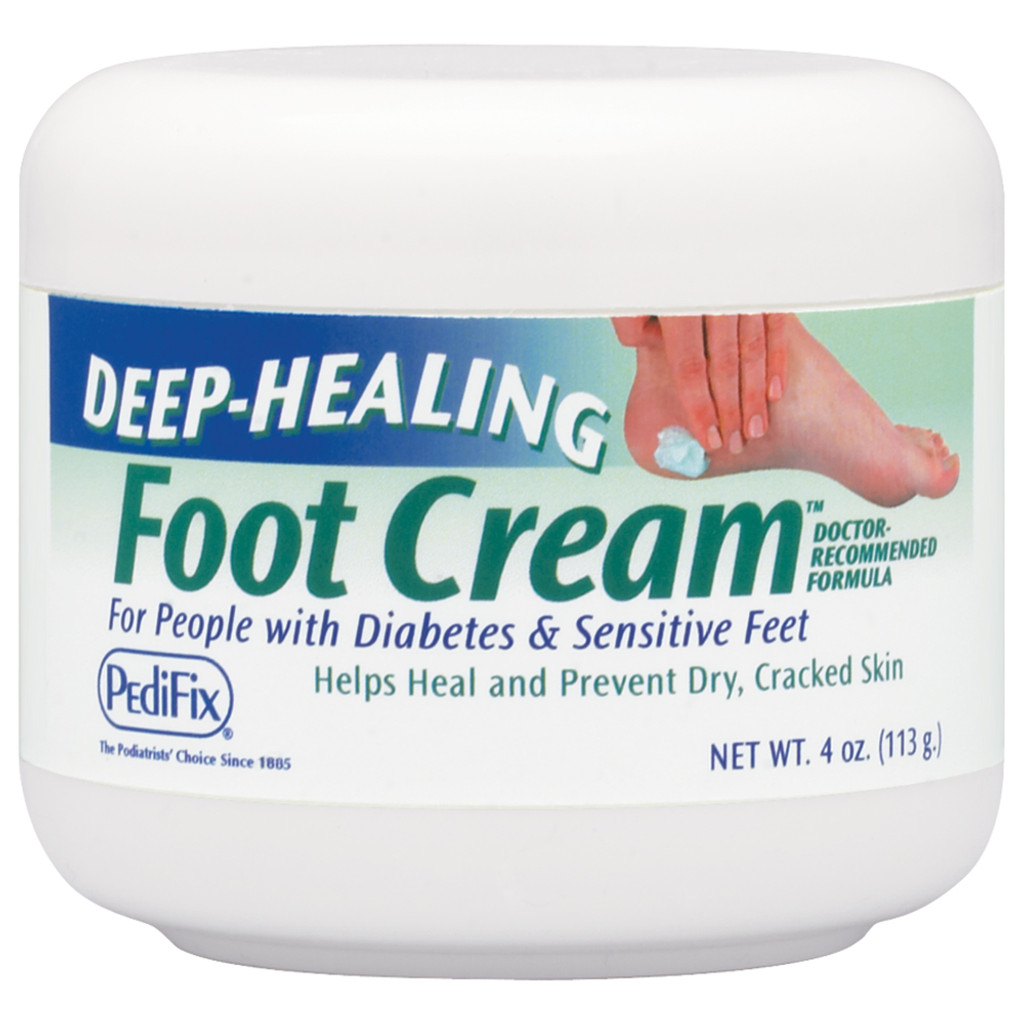 DEEP HEALING FOOT CREAM, 4 OZ JAR