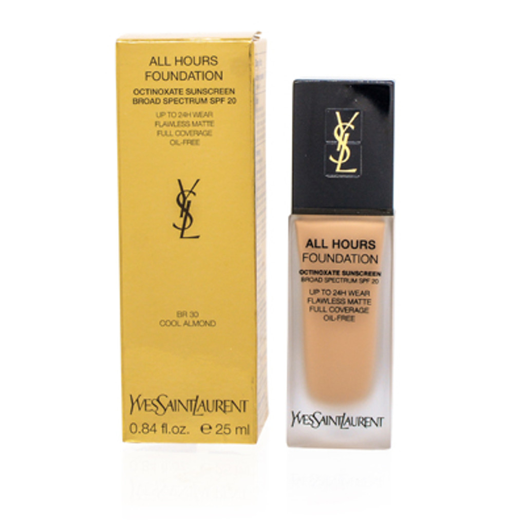 YSL/ALL HOURS FOUNDATION (BR 30) COOL ALMOND .84 OZ (25 ML)