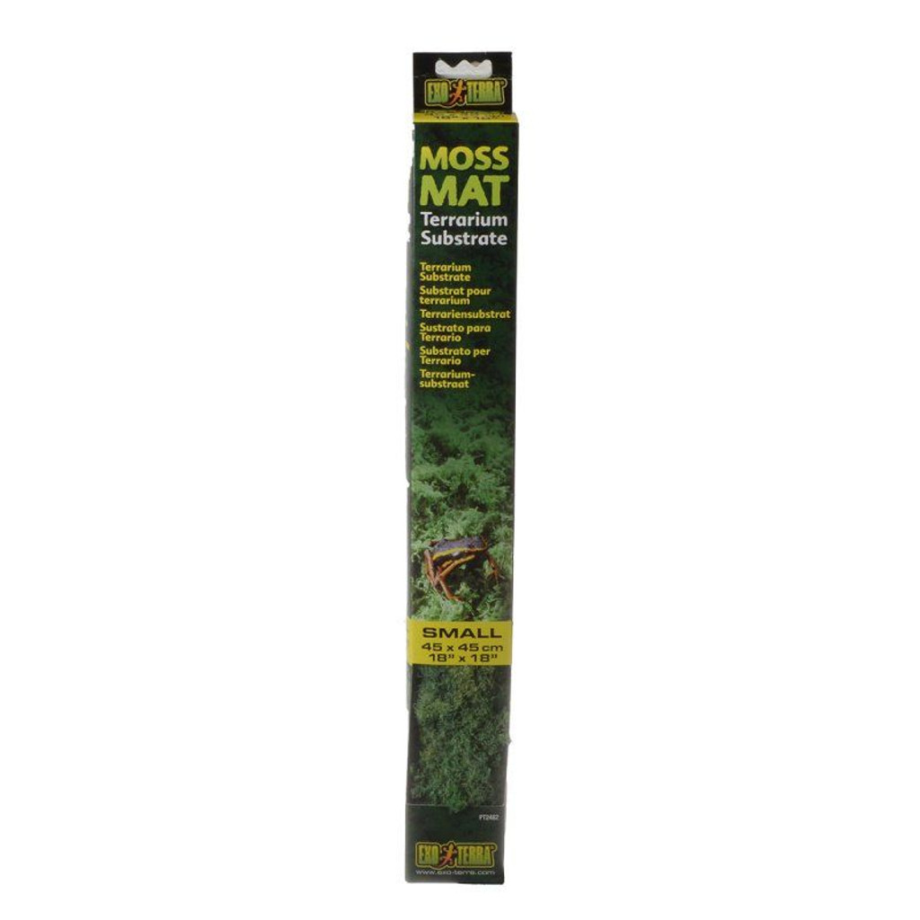 "LM Exo-Terra Moss Mat Terrarium Substrate Small - (18""L x 18""W)"