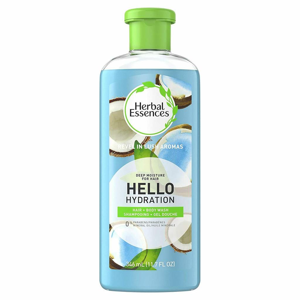 Herbal essences Hello Hydration shampoo and body wash