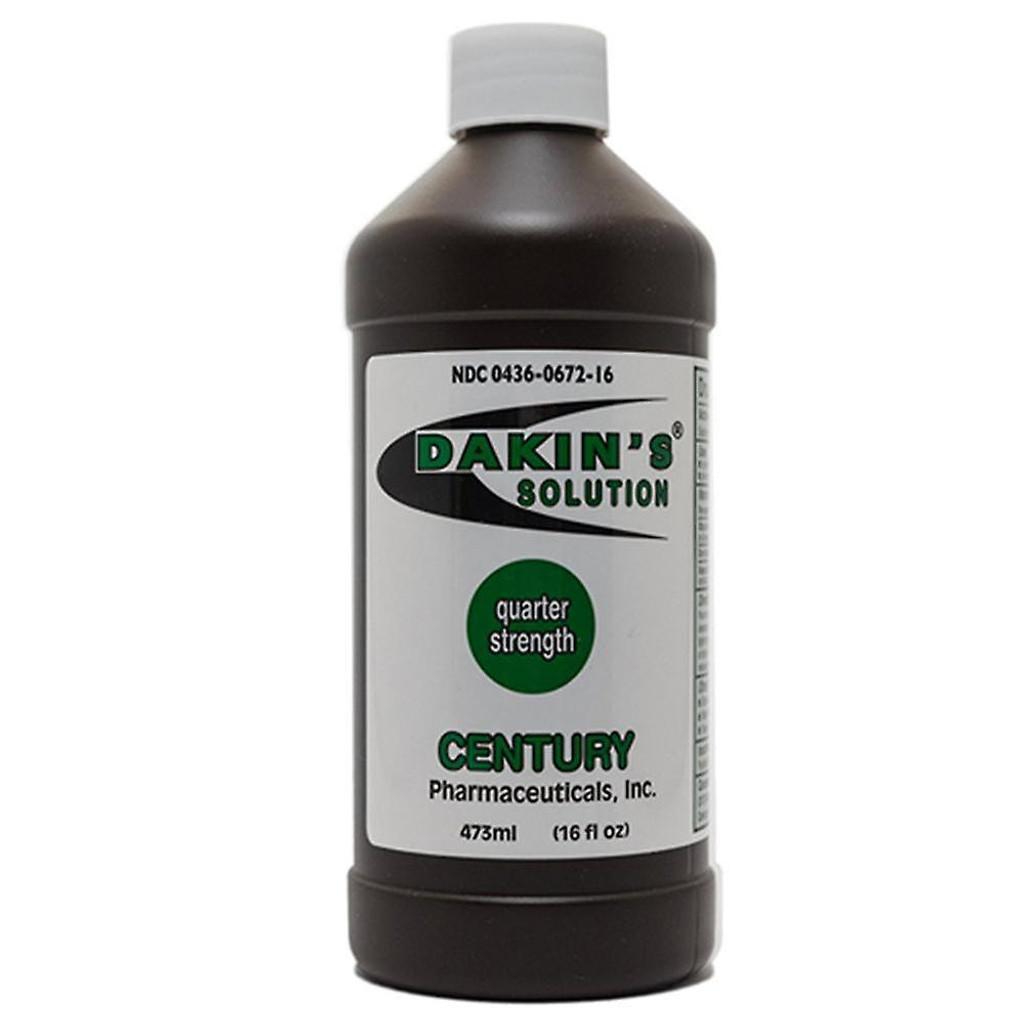 Dakins Antiseptic Solution sodium hypochlorite 0.125% 16 OZ
