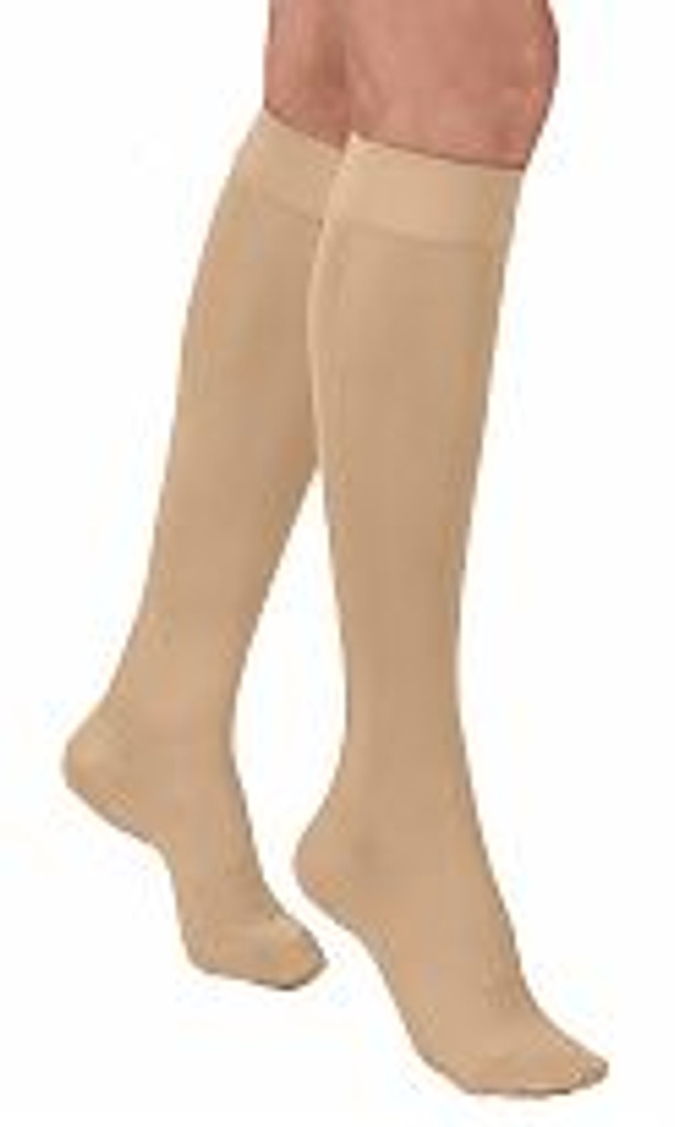 Activa Complements Sheer Closed Toe Knee Highs 20-30 Compression