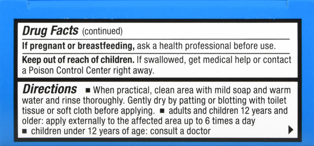 RectiCare Anorectal Lidocaine 5% Cream Topical Anesthetic Cream for Treatment of Hemorrhoids & Other Anorectal Disorders 30g Tube