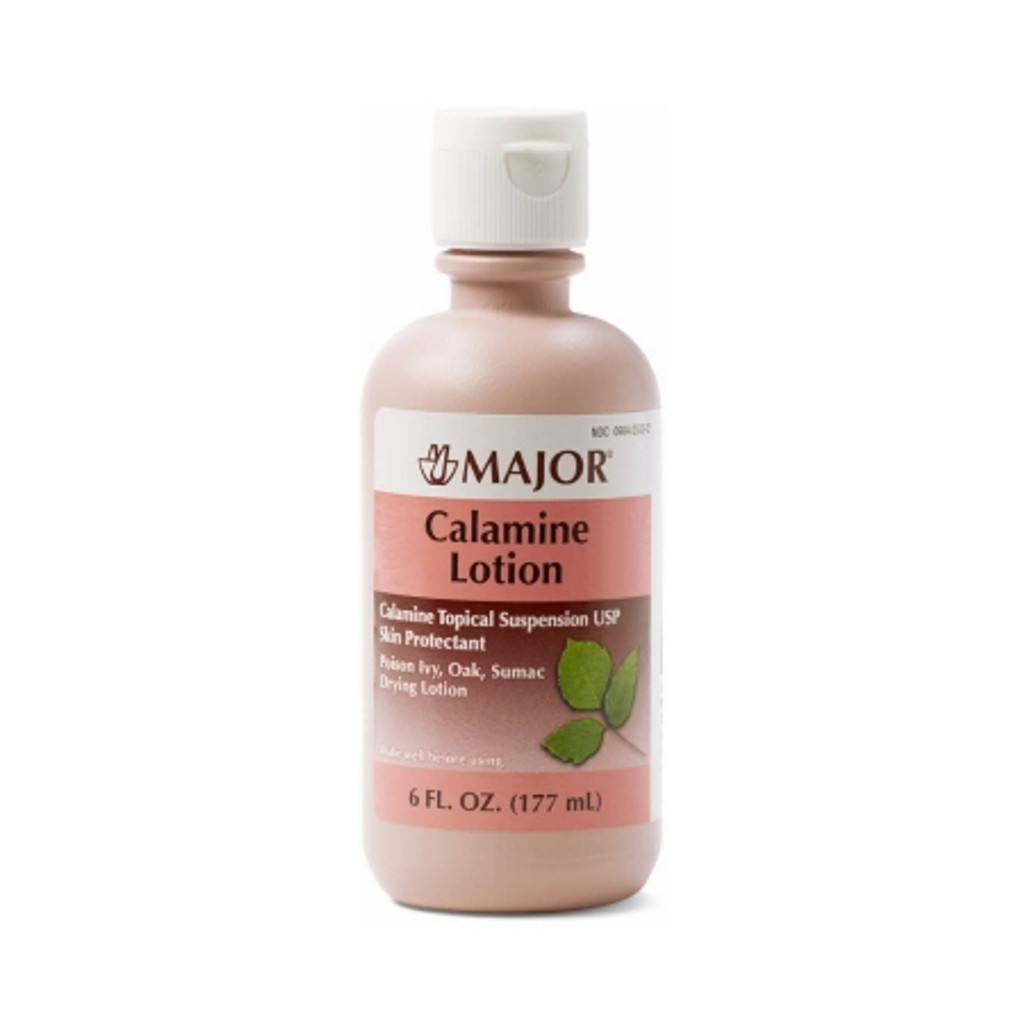 Major Calamine 8% Strength Lotion 177 mL Bottle Itch Relief