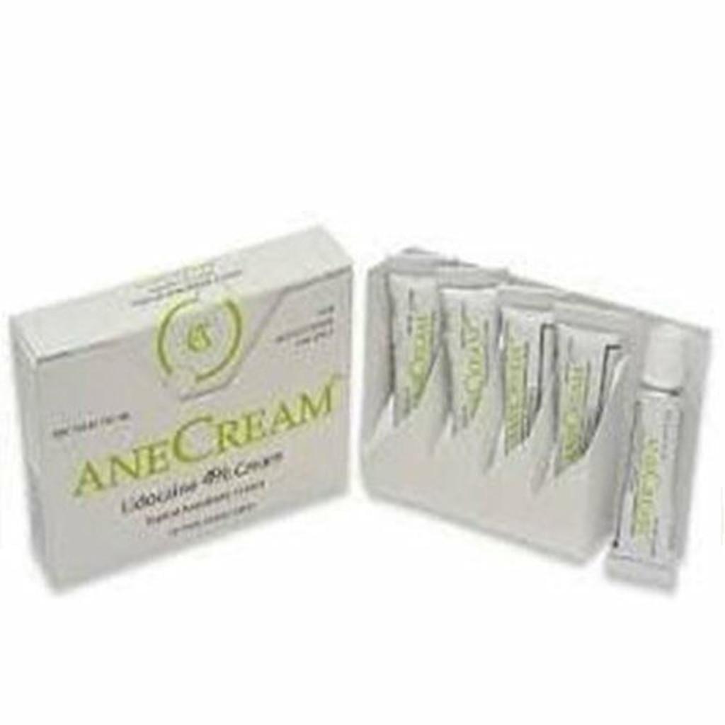 AneCream lidocaine 4% Cream 5X5 gram Tubes