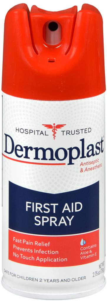 Dermoplast First Aid Spray 2.75 Ounce Antiseptic & Anesthetic