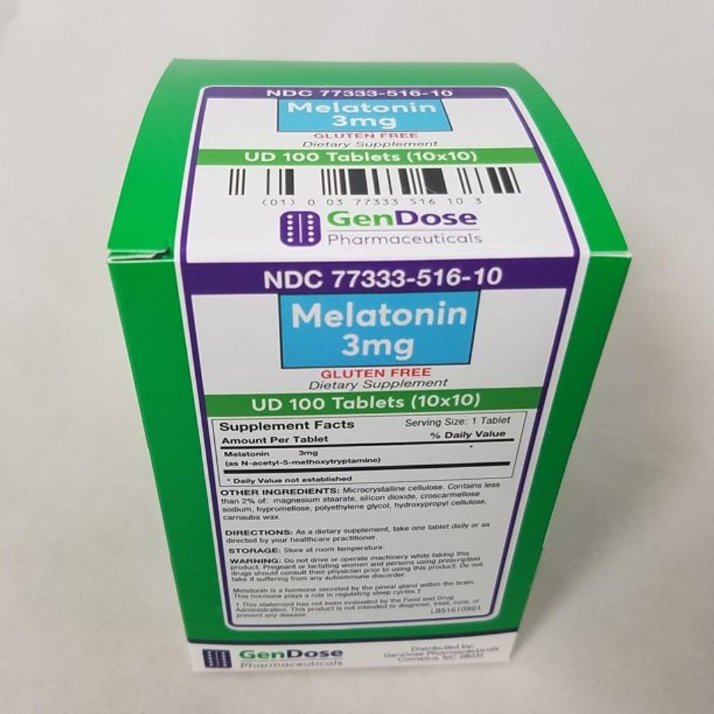 Gendose Vitamin B1 Tablets 100 mg Gluten free 100 Count