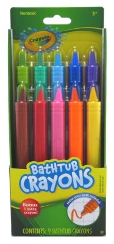 Crayola Bathtub Crayons 9 Count X 2 Counts