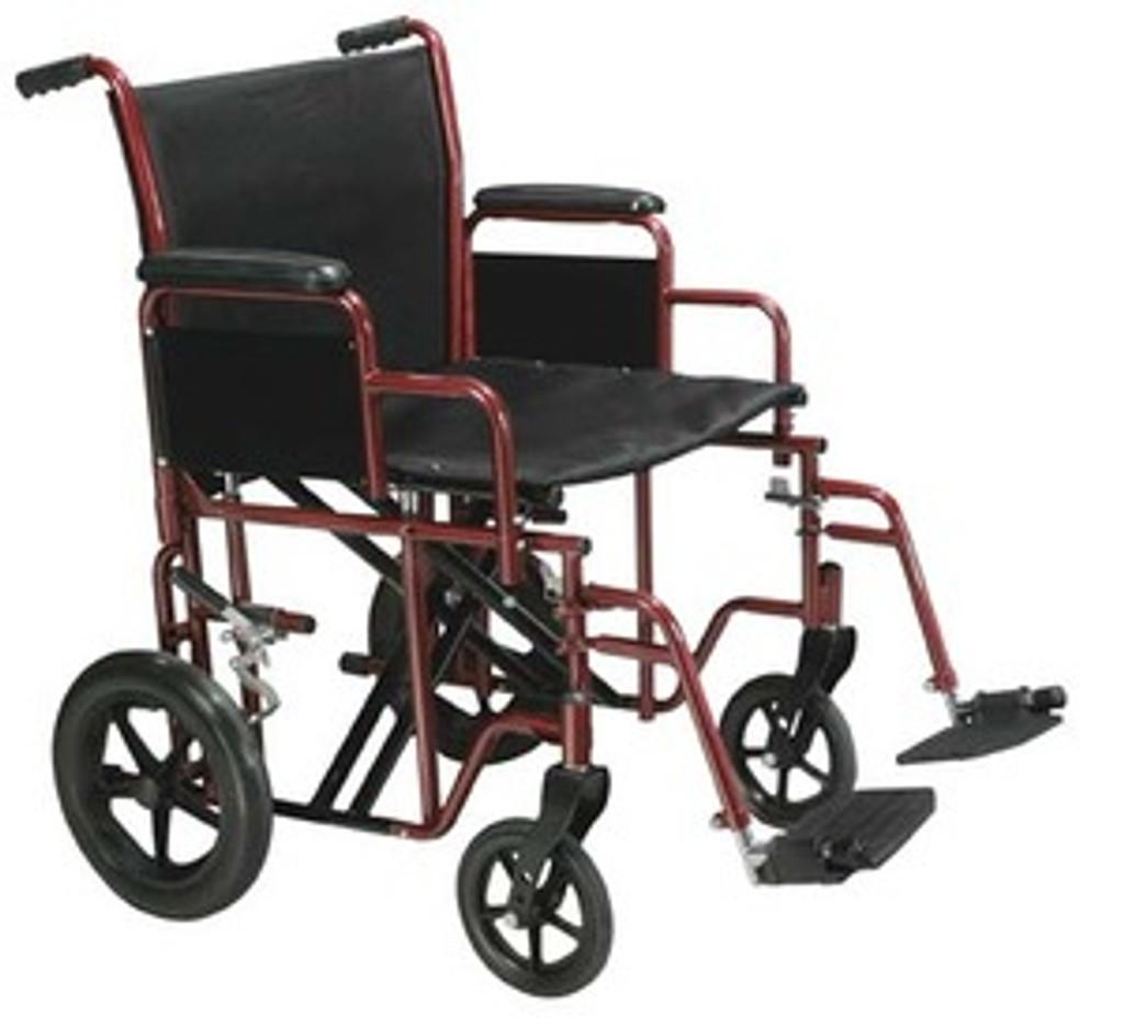 Drive Bariatric Steel Transport Chair