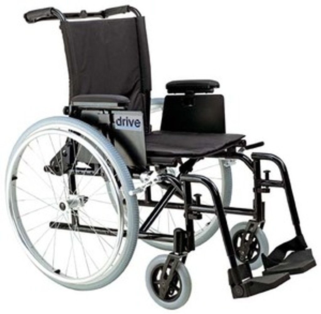 Drive Cougar - Ultralight Aluminum Wheelchair with Swing Away Elevating Legrests
