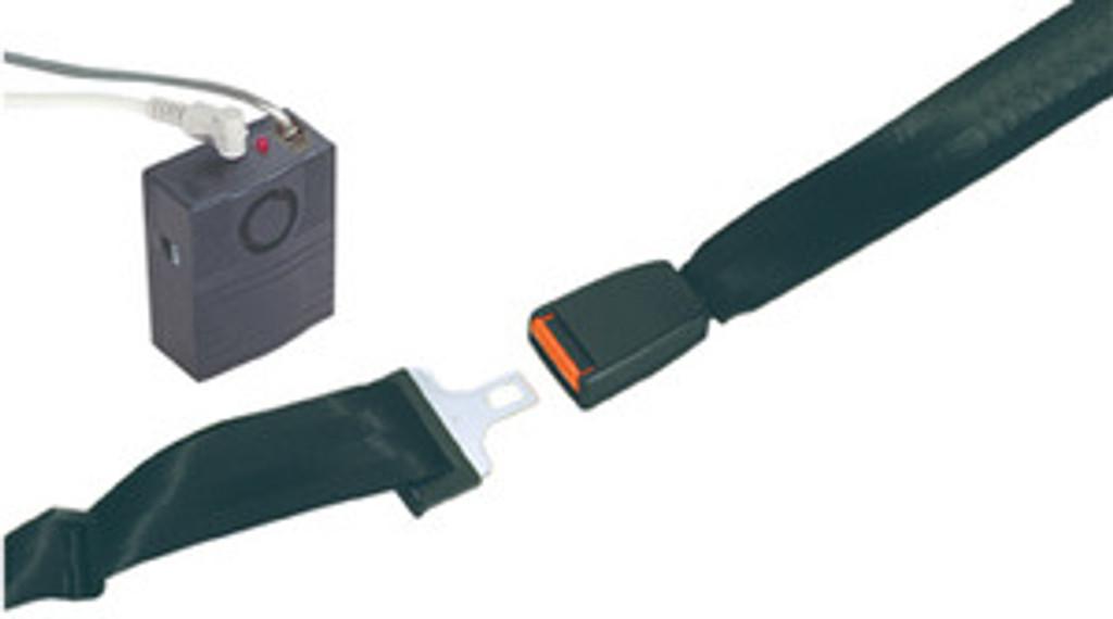 Drive Tamper Proof Seat Belt Alarm