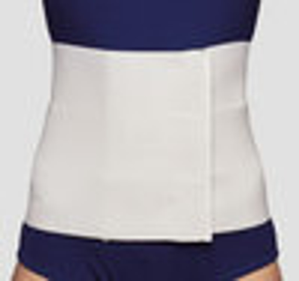 Three Panel Abdominal Binder for Women