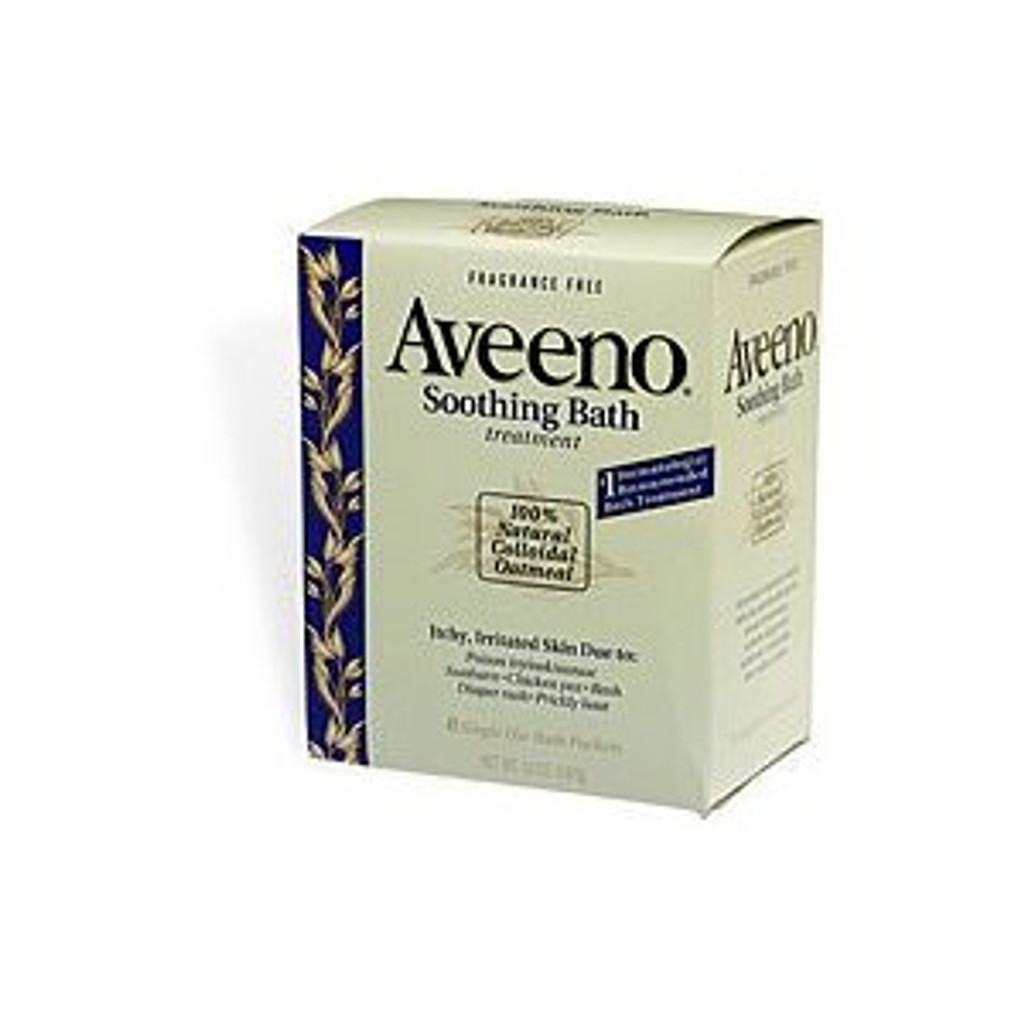 Aveeno Soothing Bath Regular (8 in a box)