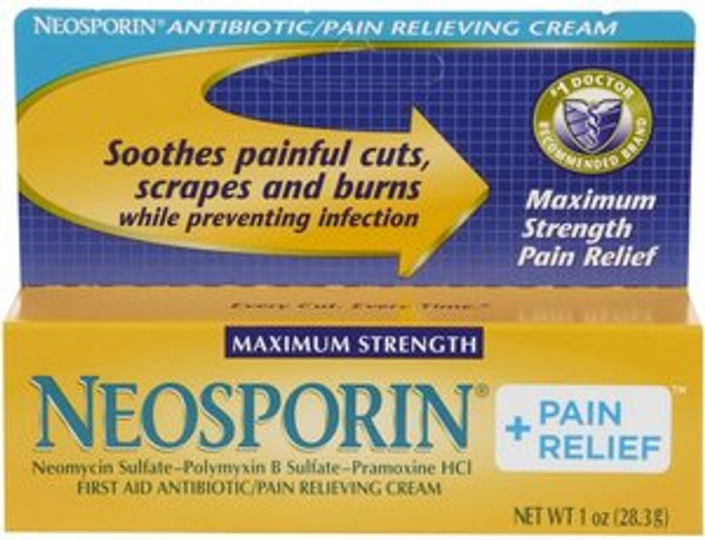 Neosporin Plus Pain Cream, 1oz