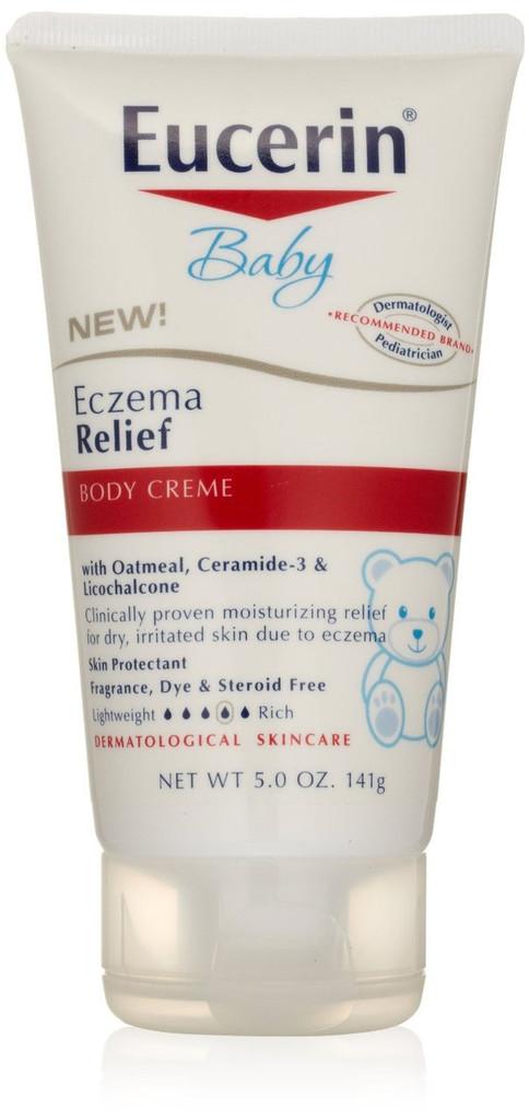 Eucerin Baby Eczema Relief Body Creme 5 Oz