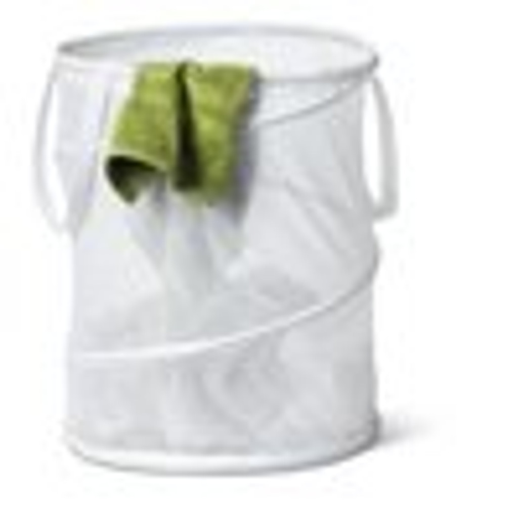 Barrel Laundry Bag Breathable polyester hamper dustbin