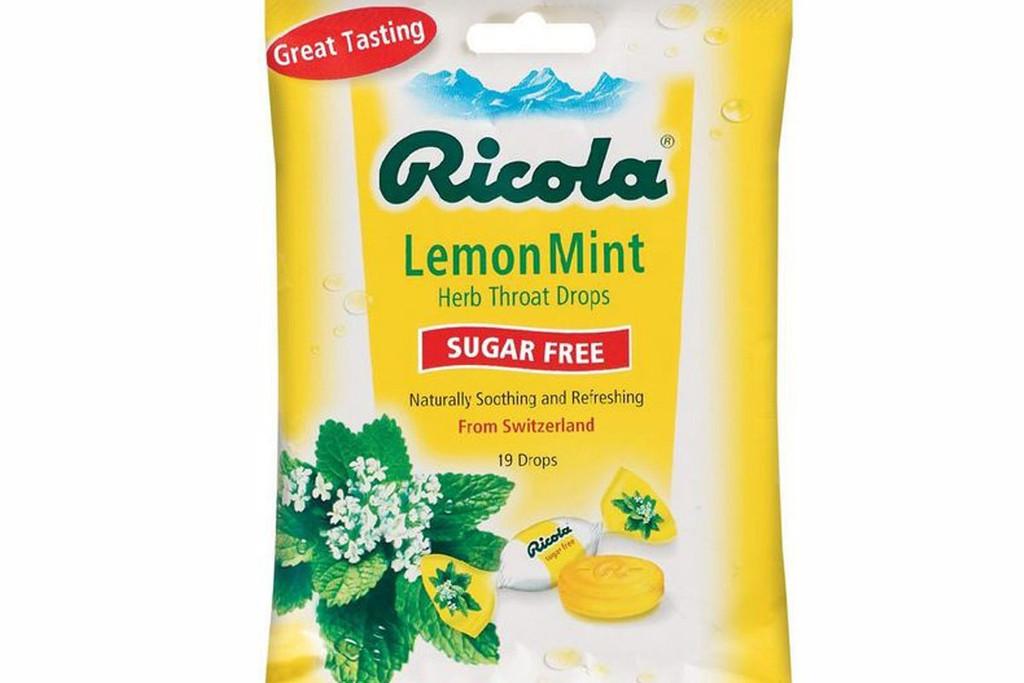 RICOLA BAG S/F LEMON MINT 19CT