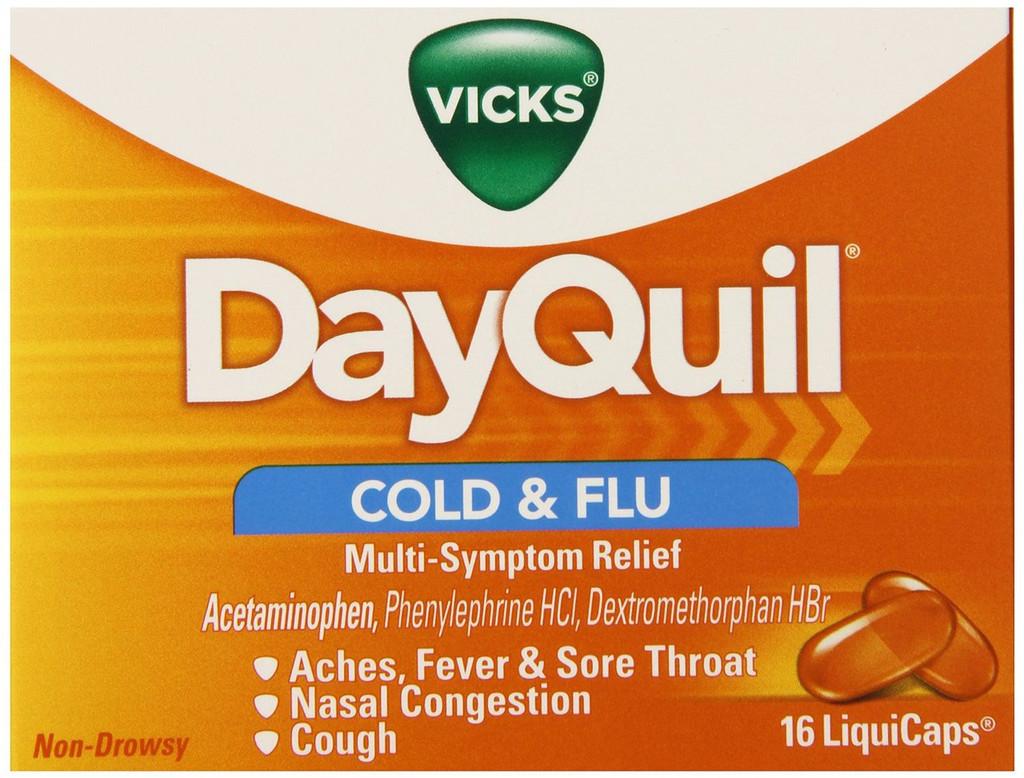 DAYQUIL COLD FLU LIQUICAP 16CT