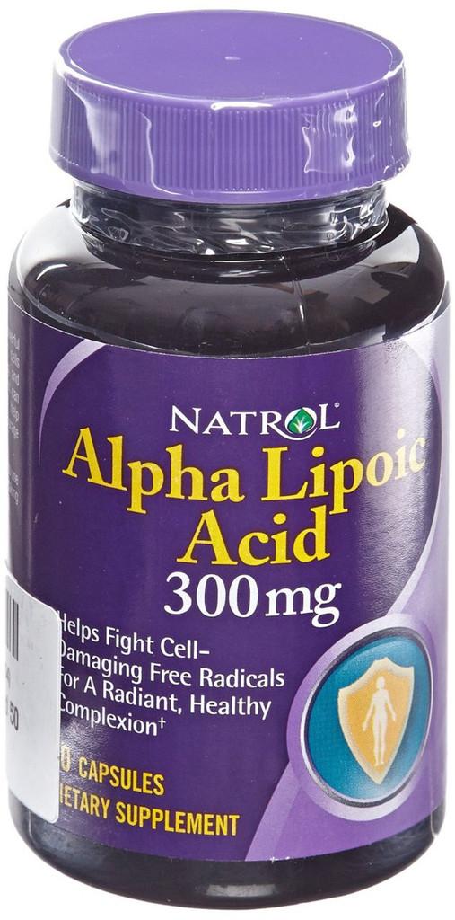 ALPHA LIPOIC ACID 300MG CAP 50CT NATROL