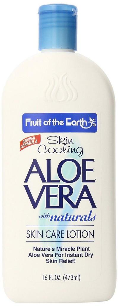 Fruit of the Earth Aloe Vera Lotion, 16 Ounce