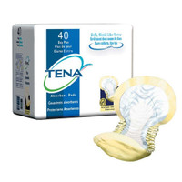 Tena Day-Plus Pads (Yellow), 2 x 40 packs
