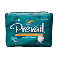 Prevail Briefs for Men and Women, Large, 4X16 Count