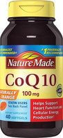 Nature Made CoQ10 100mg 40 Liquid Softgels