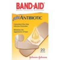 BAND-AID Brand Antibiotic Adhesive Bandages