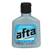 Afta After Shave Skin Conditioner Fresh 3 oz (Pack of 6)