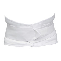 TRIPLE PULL ELASTIC BELT, LUMBOSACRAL BACK SUPPORT WITH POSTERIOR PAD INSERT, REUSABLE, SMALL