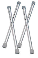 Drive Tall Extension Legs for Walkers, 4 ea