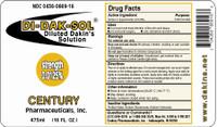 Di-Dak-Sol Diluted Dakin's Solution 0125% 16 oz