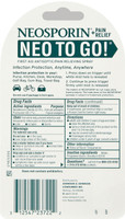 Neosporin + Pain Relief Neo to Go! First Aid Antiseptic/Pain Relieving Spray 0.26 Oz