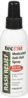 Tecnu Rash Relief Medicated Anti-Itch Spray Soothes Itching and Prevents Scarring 6 fluid Ounces
