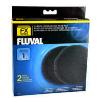 RA  Carbon Impregnated Foam Pads for FX Series - 2 pk
