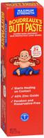 Boudreaux's Butt Paste Diaper Rash Ointment Maximum Strength Paraben & Preservative Free 4 Ounce Tube