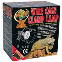 RA  Wire Cage Clamp Lamp