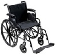 Drive Cruiser lll - Lightweight, Dual Axle with Detachable Desk Arms and Swing Away Footrests