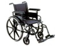 Drive 22'' Aluminum Viper Plus GT - Deluxe High Strength, Lightweight, Dual Axle with Swing Away Footrests